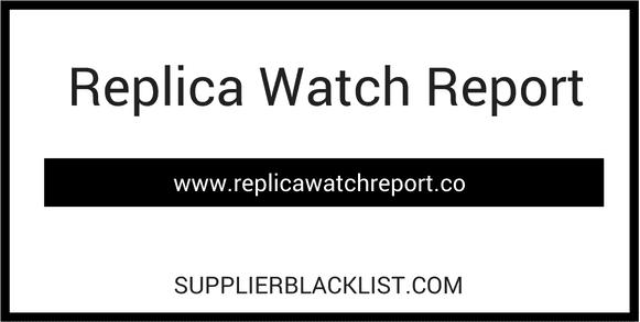 Replica Watch Report