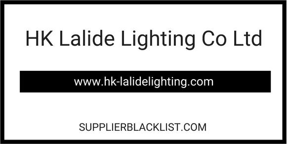 HK Lalide Lighting Co Ltd