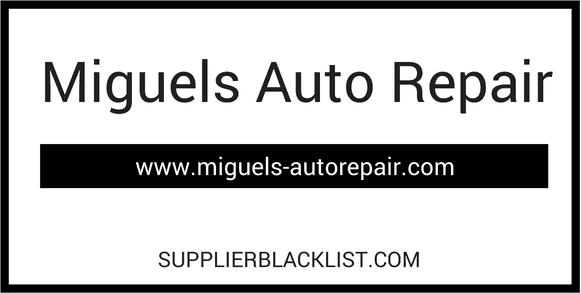 Miguels Auto Repair