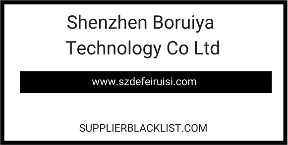 Shenzhen Boruiya Technology Co Ltd