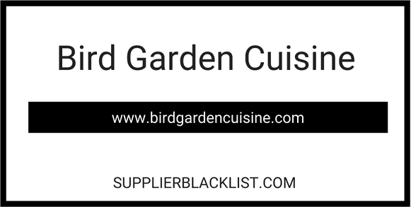 Bird Garden Cuisine