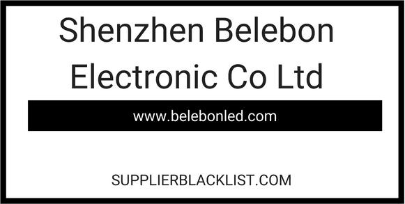 Shenzhen Belebon Electronic Co Ltd