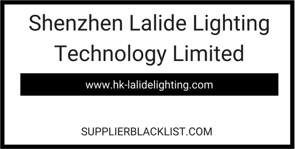 Shenzhen Lalide Lighting Technology Limited