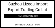 Suzhou Lizeou Import Export Trading Co Ltd