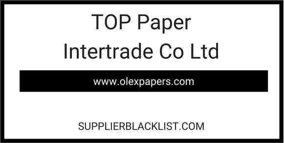TOP Paper Intertrade Co Ltd - Thailand - A4 Copier Paper