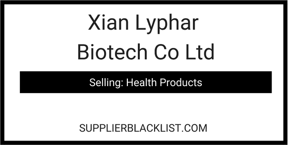 Xian Lyphar Biotech Co Ltd