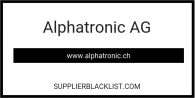 Alphatronic AG Based in Switzerland