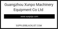 Guangzhou Xunpo Machinery Equipment Co Ltd