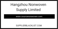 Hangzhou Nonwoven Supply Limited