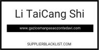 Li TaiCang Shi