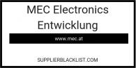 MEC Electronics Entwicklung in Austria