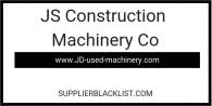JS Construction Machinery Co