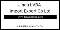 Jinan LVBA Import Export Co Ltd