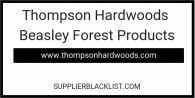 Thompson Hardwoods Beasley Forest Products