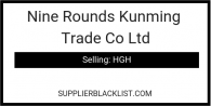 Nine Rounds Kunming Trade Co Ltd