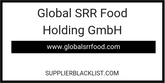 Global SRR Food Holding GmbH