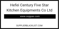 Hefei Century Five Star Kitchen Equipments Co Ltd
