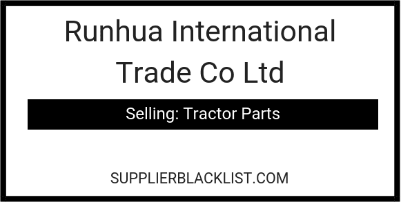 Runhua International Trade Co Ltd