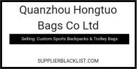 Quanzhou Hongtuo Bags Co Ltd