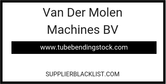 Van Der Molen Machines BV