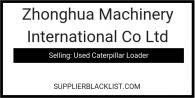Zhonghua Machinery International Co Ltd