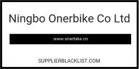 Ningbo Onerbike Co Ltd