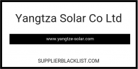 Yangtza Solar Co Ltd