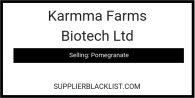 Karmma Farms Biotech Ltd