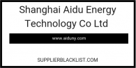 Shanghai Aidu Energy Technology Co Ltd