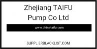 Zhejiang TAIFU Pump Co Ltd