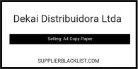 Dekai Distribuidora Ltda