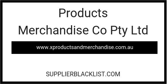 Products Merchandise Co Pty Ltd