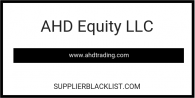 AHD Equity LLC