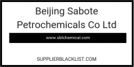 Beijing Sabote Petrochemicals Co Ltd in China