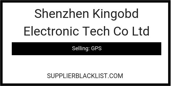 Shenzhen Kingobd Electronic Tech Co Ltda
