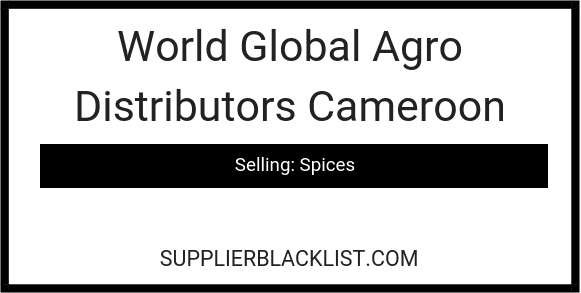 World Global Agro Distributors Cameroon
