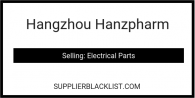 Hangzhou Hanzpharm in China