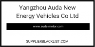 Yangzhou Auda New Energy Vehicles Co Ltd