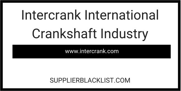 Intercrank International Crankshaft Industry