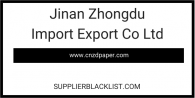 Jinan Zhongdu Import Export Co Ltd