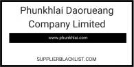 Phunkhlai Daorueang Company Limited