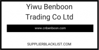 Yiwu Benboon Trading Co Ltd