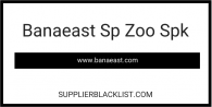 Banaeast Sp Zoo Spk