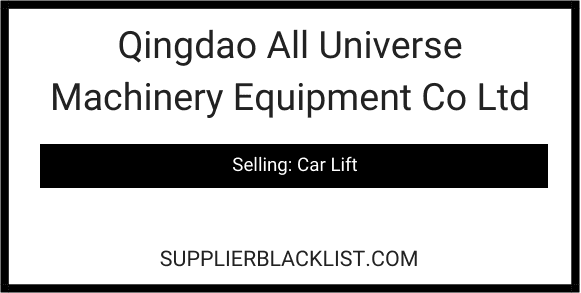 Qingdao All Universe Machinery Equipment Co Ltd