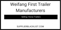 Weifang First Trailer Manufacturers