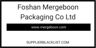 Foshan Mergeboon Packaging Co Ltd