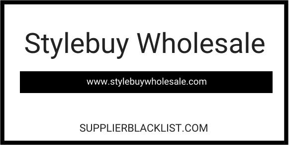 Stylebuy Wholesale