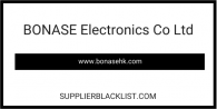BONASE Electronics Co Ltd