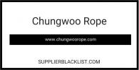 Chungwoo Rope