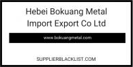 Hebei Bokuang Metal Import Export Co Ltd